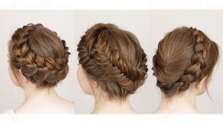 Download 3 ways to do a Crown Braid Video