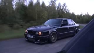 Download Bugatti Veyron 16.4 1001 HP vs BMW M5 E34 Turbo by AG [Uncut 4k ONE TAKE] Video