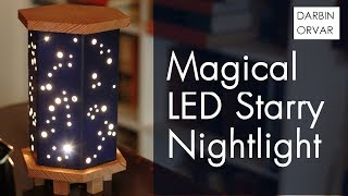 Download Magical Starry Night Light w/ Wood, Foamboard & Fairy Lights Video