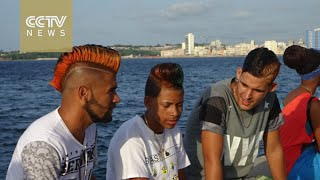 Download Outlandish hairstyles become top trend for Cuban men Video