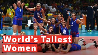 Download Countries With The World's Tallest Women Video