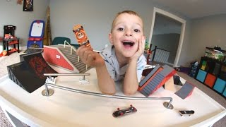 Download Father & Son EPIC FINGERBOARD PARK! Video