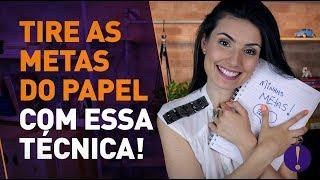 Download COMO EU TIRO AS METAS DO PAPEL! Técnica simples pra juntar mais dinheiro do que nunca! Video