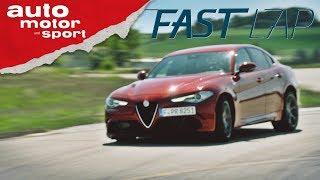 Download Alfa Romeo Giulia Quadrifoglio: Italo Western mit Happy End? - Fast Lap | auto motor und sport Video