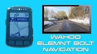 Download Wahoo Elemnt Bolt - Navigation Video