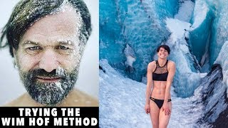 Download I tried the Wim Hof Breathing & Cold Therapy Method for 7 Days | Sorelle Amore Video
