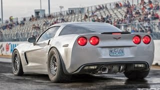Download MASSIVE Rear Mounted TURBO Corvette! Video