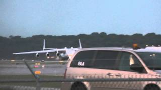 Download RARE Antonov An-225 Mriya UR-82060 takeoff form MSP 7-2-2014 Video