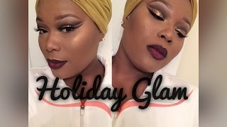 Download FULL FACE TUTORIAL : HOLIDAY GLAM (Talk Through) Video