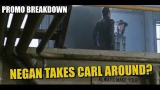 Download The Walking Dead Season 7 Episode 7 Promo Breakdown & Preview Negan Takes Carl Around The Sanctuary Video