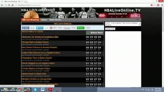 Download How to watch live nba games!! For free!! Video