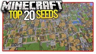 Download Minecraft Top 20 Seeds (Minecraft PE Seeds & Minecraft PC Seeds) 2016 Video