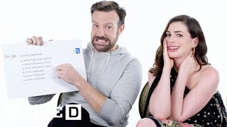 Download Anne Hathaway & Jason Sudeikis Answer the Web's Most Searched Questions | WIRED Video