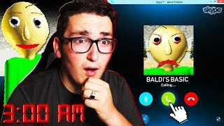 Download SKYPE CALLING BALDI AT 3:00AM **HE ANSWERED** Video