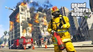 Download GTA 5 Mods - PLAY AS A FIREFIGHTER MOD!! GTA 5 Firefighter Mod! (GTA 5 Mods Gameplay) Video