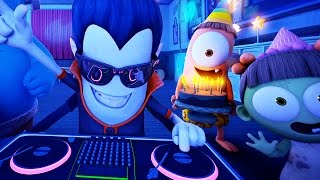 Download Funny Animated Cartoon | Spookiz Weekend Party Time 스푸키즈 | Cartoon for Children Video