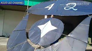 Download SUPER GILA....! LAYANGAN 4MTR 20 HANYA DI TARIK 1 ORANG Video