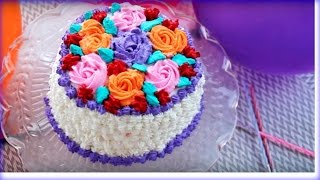 Download জন্মদিনের কেক || Birthday Cake || Bangladeshi Decoration Cake || Bangladeshi Birthday Cake Recipe Video