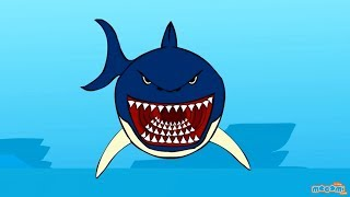 Download Sharks - Creepy Sea Creature Facts | Mocomi Kids Video