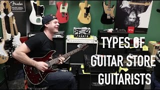 Download Every Guitar Store Guitarist Video