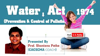 Download Water Act 1974 Part A Youtube Video