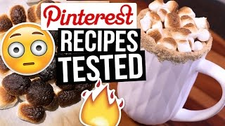 Download Pinterest Hacks TESTED: Hot Chocolate Recipes || What Worked & What DIDN'T Video