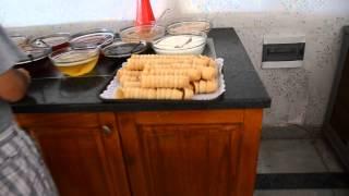 Download Еда в отеле (завтрак) larissa holiday beach club 4 Video