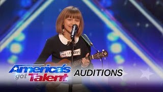 Download Grace VanderWaal: 12-Year-Old Ukulele Player Gets Golden Buzzer - America's Got Talent 2016 Video