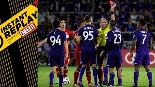 Download RED CARD DRAMA IN ORLANDO | Instant Replay Video