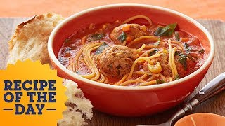 Download Rachael Ray's Spaghetti & Meatball ″Stoup″ Video