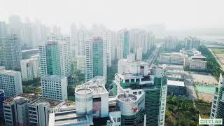 Download A Drone's Eye View of Songdo, South Korea's 'Smartest City' Video