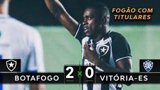 Download ESTRÉIA DOS TITULARES | Botafogo 2 x 0 Vitória-ES - Melhores Momentos (HD) - Amistoso 2020 Video