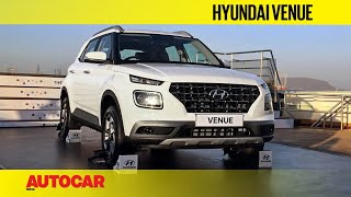 Download Hyundai Venue   First Look and Walkaround   Autocar India Video