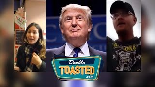 Download TRUMP SUPPORTERS GO CRAZY YET AGAIN - Double Toasted Podcast Highlight Video