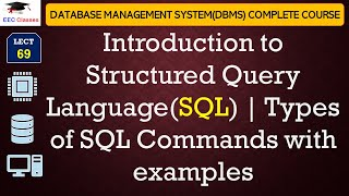 Download SQL Tutorial for Beginners in Hindi and English - Introduction to SQL, Types of SQL Commands Video