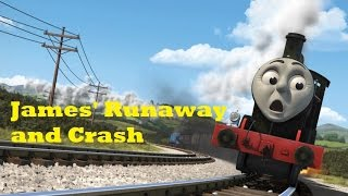 Download Thomas and Friends: The Adventure Begins - James' Runaway and Crash Video