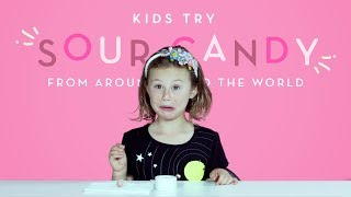 Download Kids Try Sour Candy from Around the World | Kids Try | HiHo Kids Video