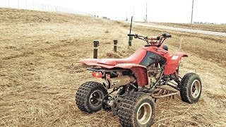 Download Honda 400EX-Trying out ditch riding-Go pro HERO 3 Video