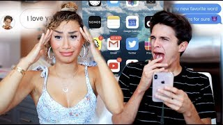 Download MY CRUSH GOES THROUGH MY PHONE! (nothings off limits) | MyLifeAsEva and Brent Rivera Video