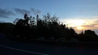Download No.2429, Skywatch Açores, Sonnenuntergang mit sterbenden Baeumen, August 2017 Video