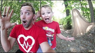 Download FATHER SON ADVENTURE TIME! / Haunted Woods! Video