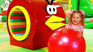 Download Indoor Playground for kids fun Play time / Roma and Diana Video