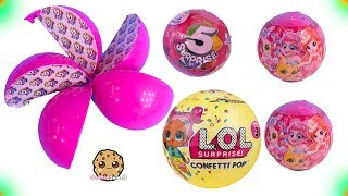 Download 5 Layer Surprise Toys + LOL Confetti POP - Cookie Swirl C Video Video