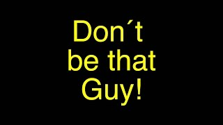 Download Don´t be that guy (Short Film about Smartphone addiction) Video