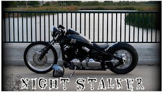 Download 2000 Yamaha V Star 650 Bobber The Night Stalker Video