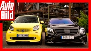 Download Brabus: Smart fortwo vs. Mercedes Rocket 900 (2016) Video