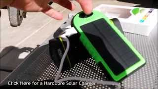 Download (:Review:) Solar USB Battery Bank ~5000mAh~ Weather Resistant Video
