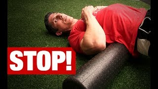 Download Never Foam Roll Your Lower Back! (HERE'S WHY) Video