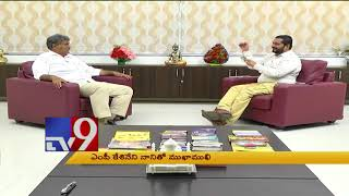 Download MP Kesineni Nani in Mukha Mukhi - TV9 Video