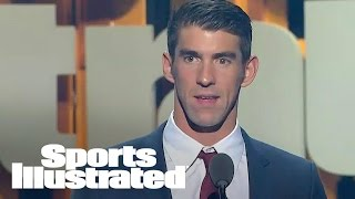 Download Michael Phelps Accepts Greatest Olympian Of All Time Award | SPOTY 2016 | Sports Illustrated Video